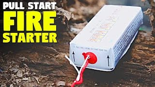 Easy Fire Starter For Camping