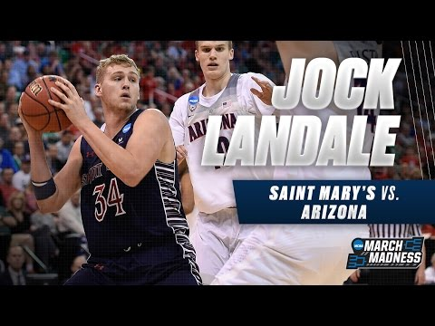 March Madness Highlights: Jock Landale with 19 points vs. Arizona
