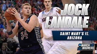 March Madness Highlights: Jock Landale with 19 points vs. Arizona
