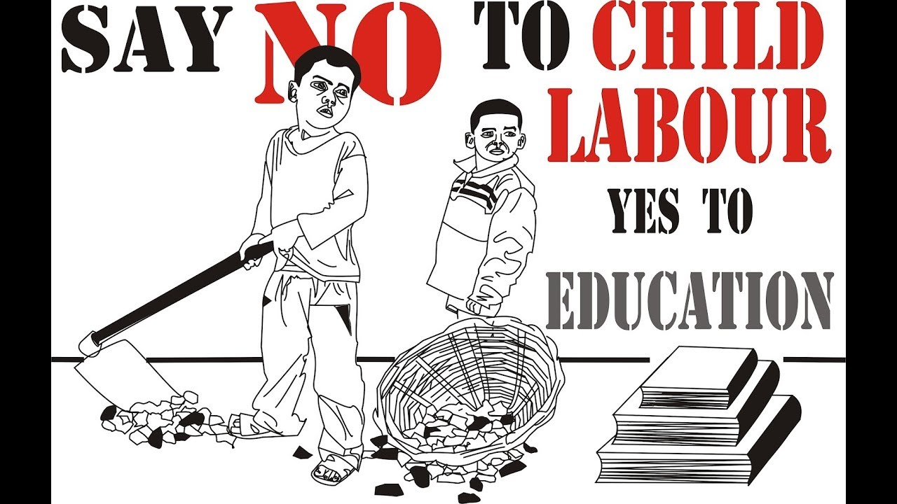 A Poster On Child Labour