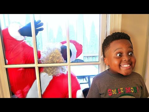 Thumbnail: Bad Baby Santa Claus ATTACKS AGAIN! Shasha and Shiloh - Onyx Kids