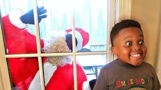 Bad Baby Santa Claus ATTACKS AGAIN!  Shasha and Shiloh - Onyx Kids
