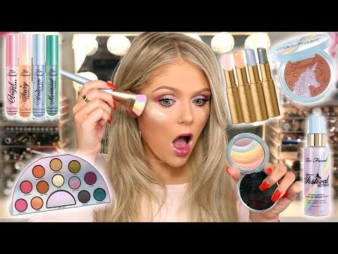 NEW TOO FACED UNICORN COLLECTION | FULL FACE FIRST IMPRESSIONS