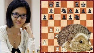 Шахматы. Хоу Ифань играет ЕЖА в сицилианской защите!