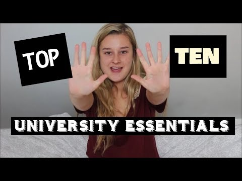 MY TOP 10 THINGS TO TAKE TO UNI - UNIVERSITY OF OXFORD