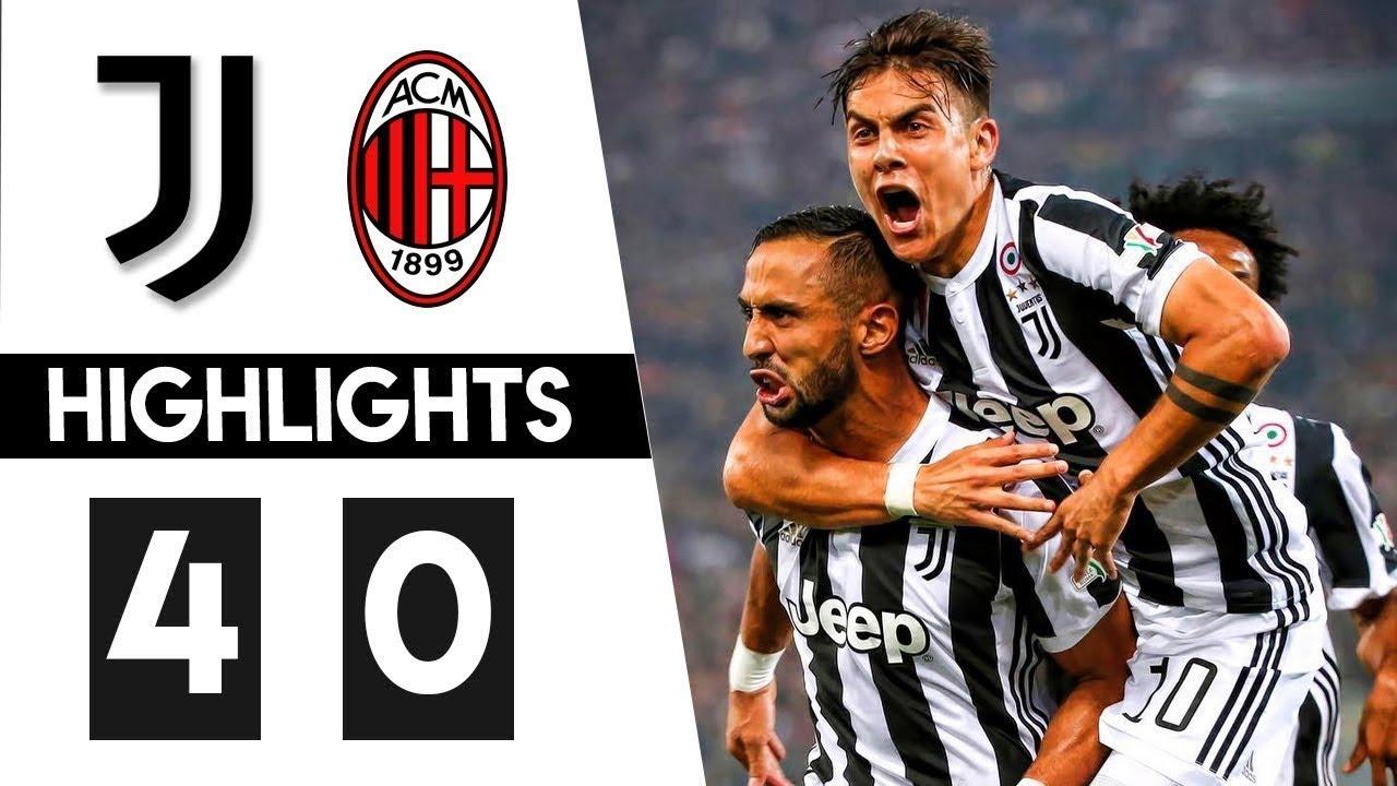 Juventus vs Milan 4-0 Highlights & All Goals 09/05/2018 HD ...