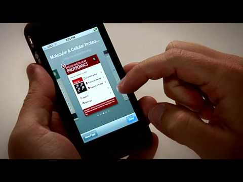 Stanford University's HighWire Mobile App