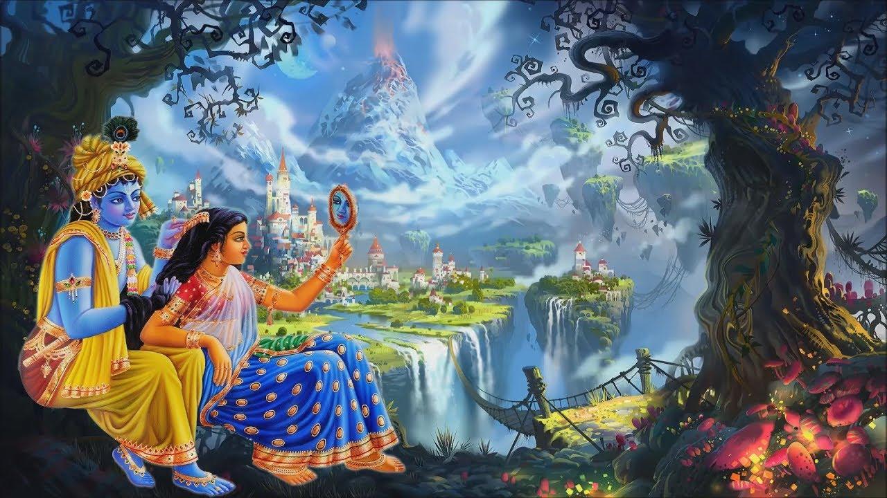 God Krishna Background Lord Shri Krishna Animation Background Youtube