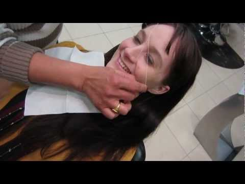 EYEBROW THREADING CRAZINESS - Feb 9, 2013 - dailyBUMPS