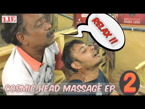 World's Greatest Head Massage Ep. 2 | 🅱🅰🅱🅰 | Cosmic Barber Body Massage | Baba Sen ASMR No Talking