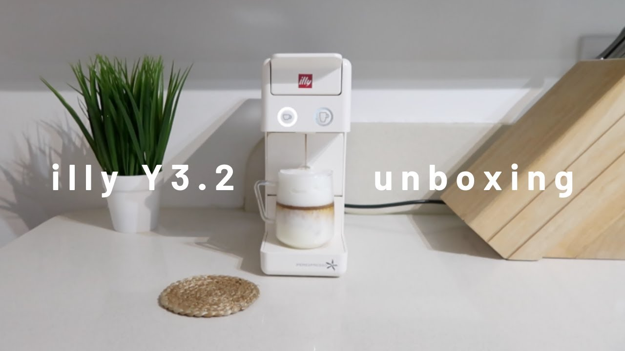 Coffee Machine Unboxing And A Warm Cup Of Cappuccino