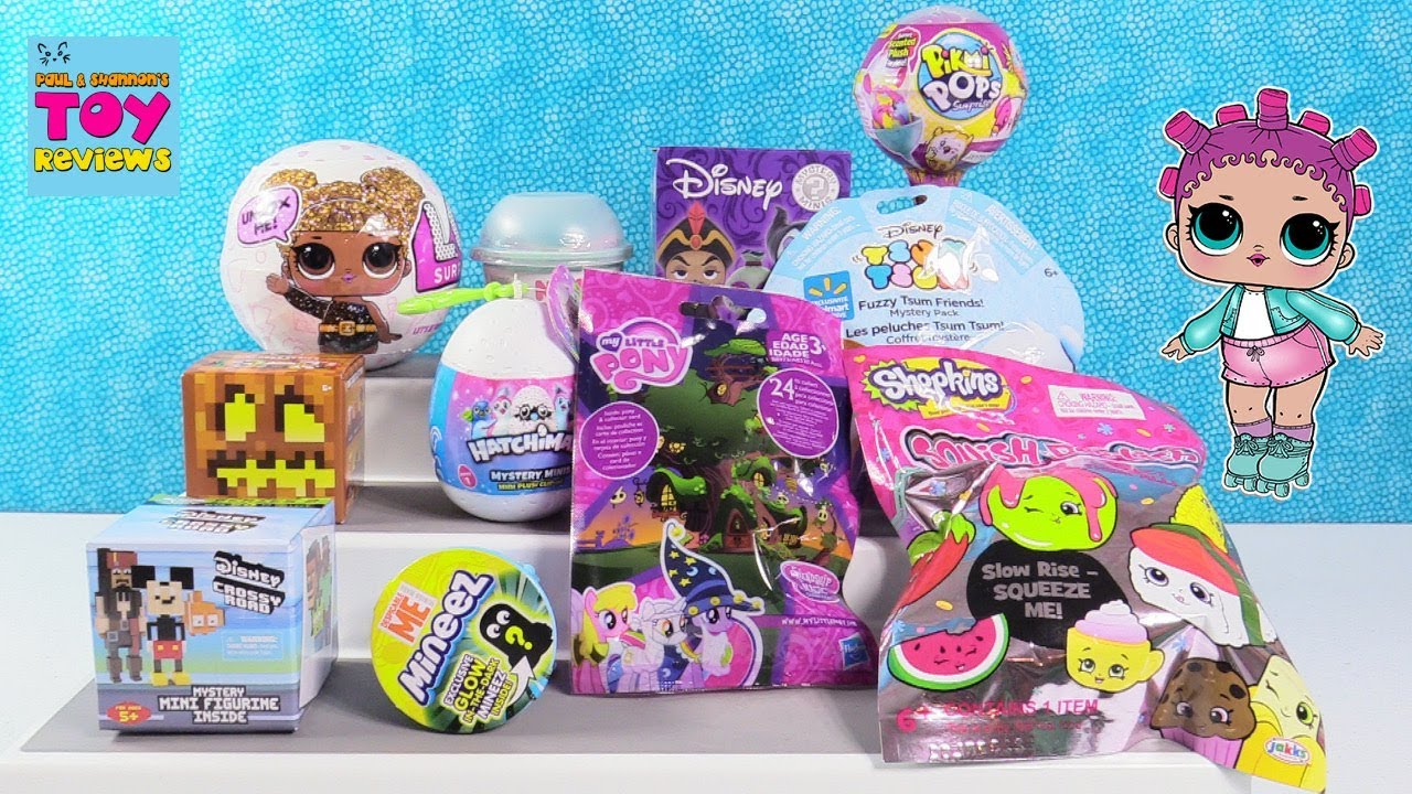 Squish Dee Lish Toys R Us : Disney LOL Surprise Glitter Pikmi Pops Squish-Dee-Lish Toy Review Opening PSToyReviews - YouTube