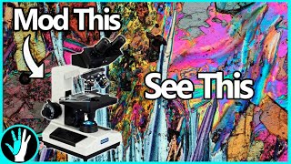 Upgrading a Microscope to Do Polarized Light, and Dark Field Microscopy