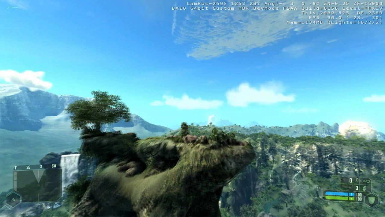 Crysis   Recreation Of Beautiful Final Fantasy XIV Scenery (Eorzea)    Beautiful Scenery 1080P HD