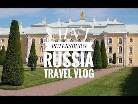 Saint Petersburg, Russia Travel Vlog