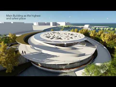 Amphibious Tourism Destination - Architectural Animation