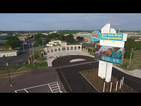 New York State Fair 2016: Aerial view of $50 million makeover
