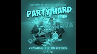 PARTY HARD RIDDIM MIX{SEP 2018} J1 PRODUCTION DJ TERANOVA