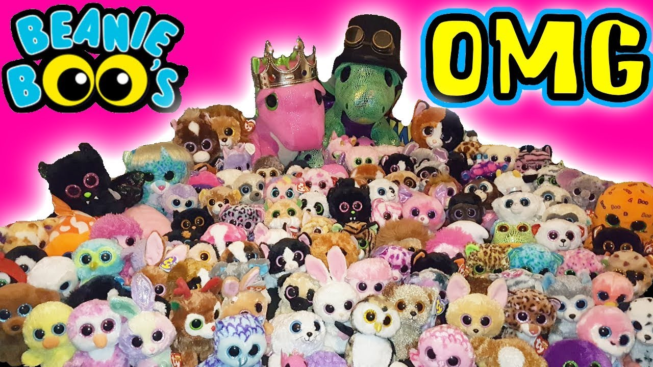 cd54f23dbbf Our entire TY Beanie Boo toy huge Collection 2018 - YouTube