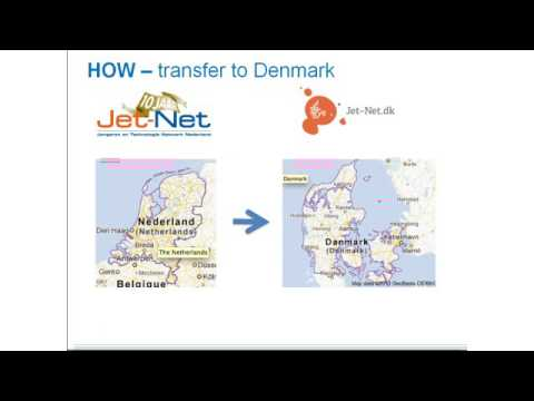 "Plataforma Nacional CTEM - ""The transfer of Jet-Net to Denmark"""
