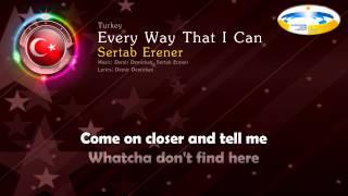 2003 Sertab Erener Every Way That I Can Turkey