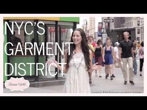 Fabric And Trim Stores In NYC's Garment District