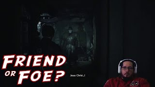Alex thinks that Mr. X (Tyrant) from Resident Evil 2 is a friend...