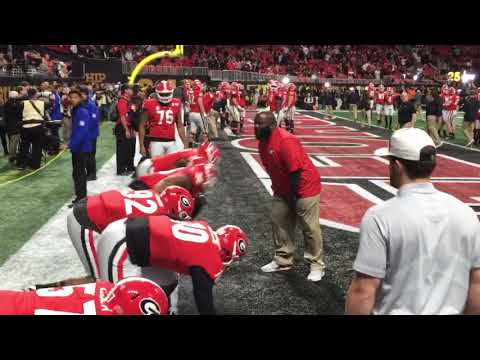 1/8:  GEORGIA Pregame Defensive Line