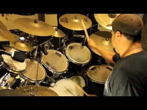 drumcover of akercockes 'words that go unspoken'