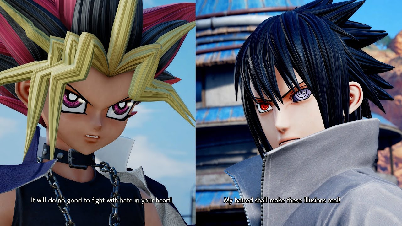 foto de Jump Force - Yami Yugi All Unique Special Quotes / Easter Eggs ...
