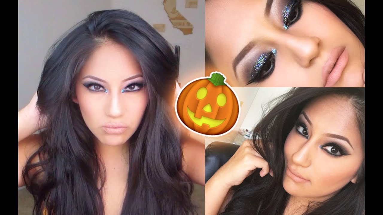 Witch halloween makeup tutorial youtube witch halloween makeup tutorial baditri Images