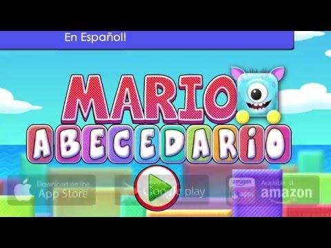 Juegos Educativos Para Aprender a Leer    Abecedario Mario - Official