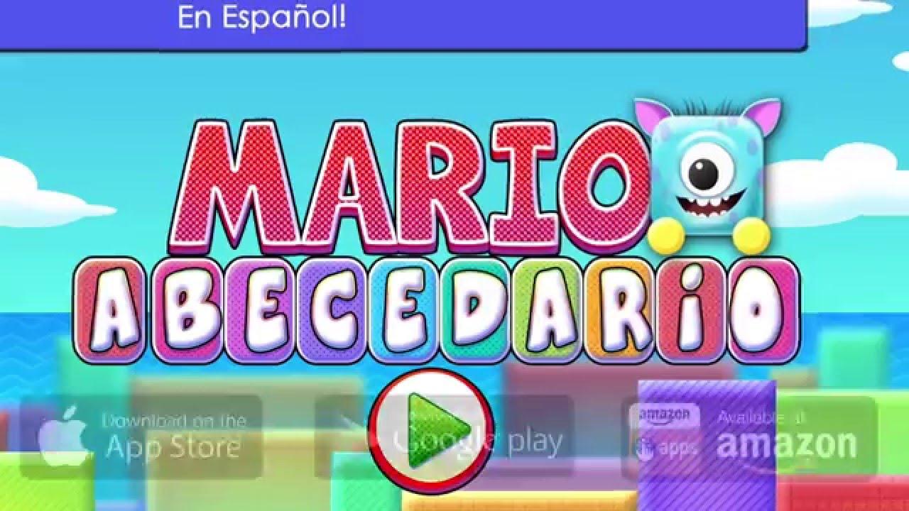 Juegos Educativos Para Aprender A Leer Abecedario Mario Official