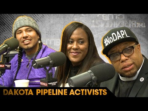 Dakota Pipeline Activists Speak About Their Fight to Protect Native Lands
