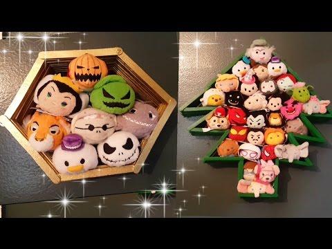 Tsum Tsum Display Shelf Diy ~ SUPER EASY!!