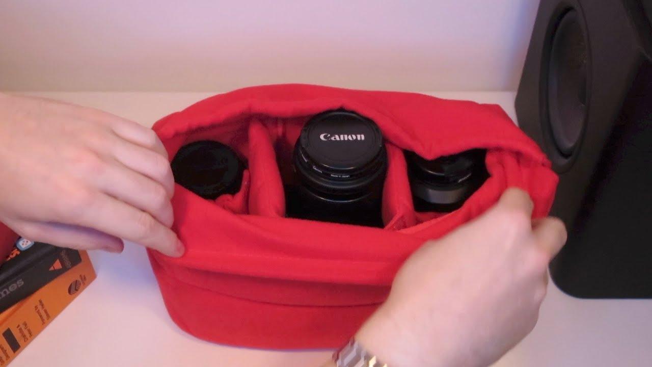 Turn Any Bag Into A Camera Bag Youtube