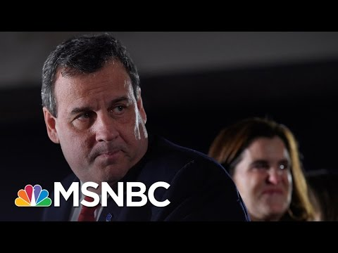 Governor Chris Christie 'Flat Out Lied' | Rachel Maddow | MSNBC