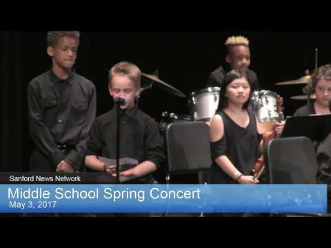MS Spring Concert