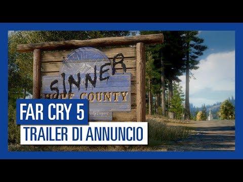Far Cry 5 - Trailer di Annuncio