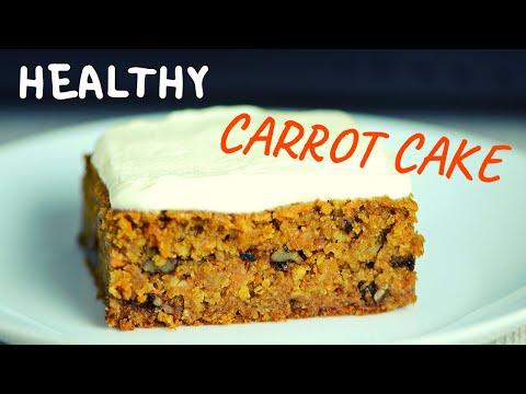 Healthy Oatmeal Carrot Cake