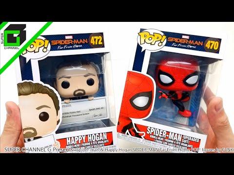 Spider-Man: Far From Home Happy Hogan Figure NEW Stock Funko POP Vinyl