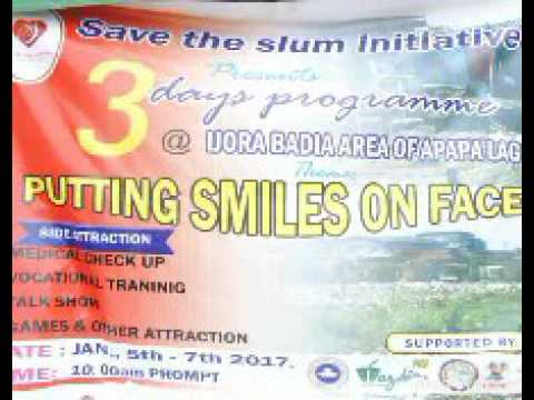 Save the slum Last edition work