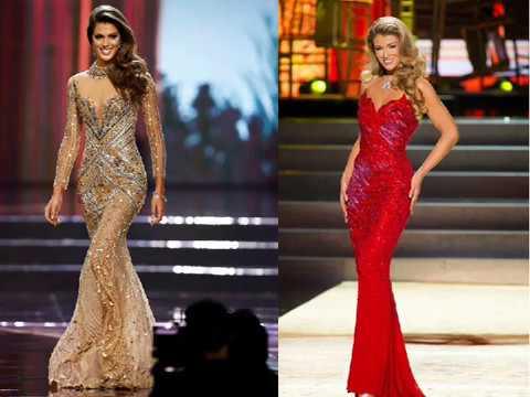 86d9042dc Los 20 vestidos de concursos de belleza mas bonitos  Miss Universo - World  dresses