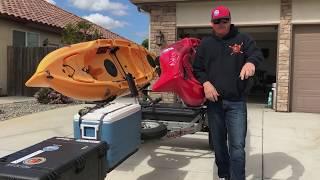 Malone Micro Sport Kayak Trailer : Ditch the Headache