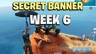 Secret battle star / secret banner week 6 location - Fortnite season 7