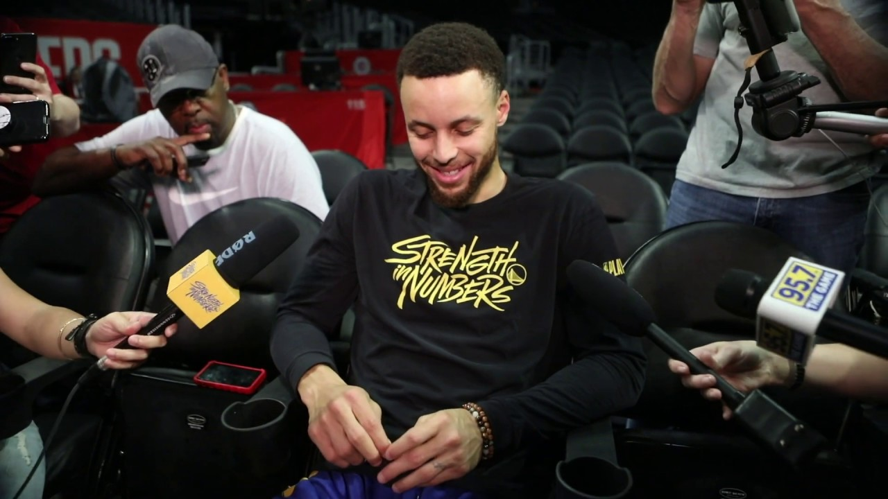 1f46d3e8b630 Warriors  Stephen Curry on game three against Los Angeles Clippers ...