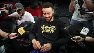 Warriors' Stephen Curry on game three against Los Angeles Clippers