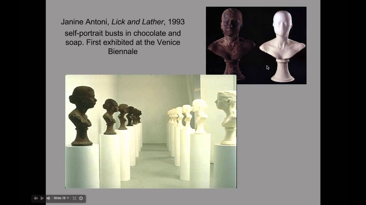 Describe lick and lather by janine antoni 13
