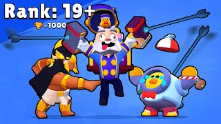 Rank 19+ SALLY NANI vs BO - Brawl Stars Funny Pose Animation #8