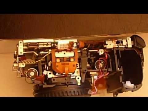 Disassembling Canon 40D DSLR with ERROR99 shutter replacement 1/2